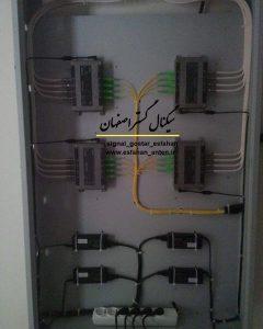 اجرای سیستم آنتن مرکزی فیبرنوری