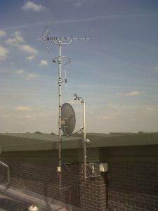 آنتن مرکزی ماهواره و آنتن مرکزی دیجیتال برای دریافت شبکه های دیجیتال با کیفیت بالا